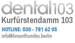 dental 103 Zahnarzt und Kieferorthopädie in Berlin